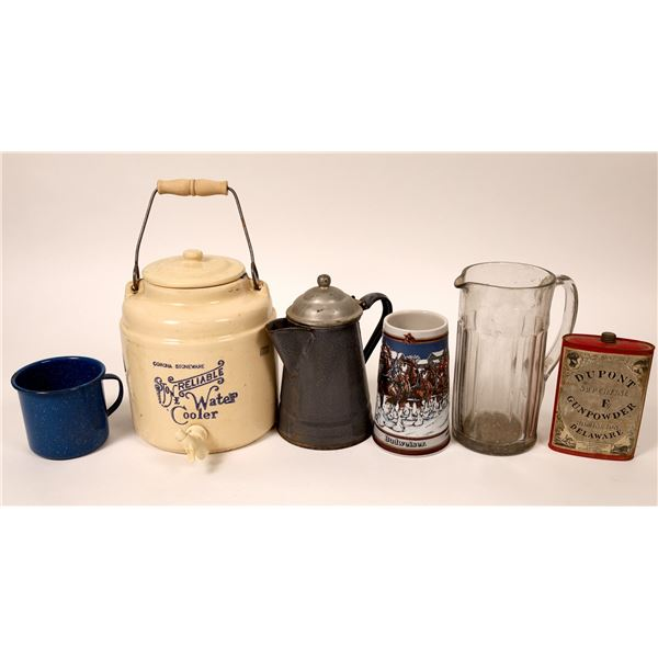 Various Drinkware and Vessels Collectible Group (6)  [131589]