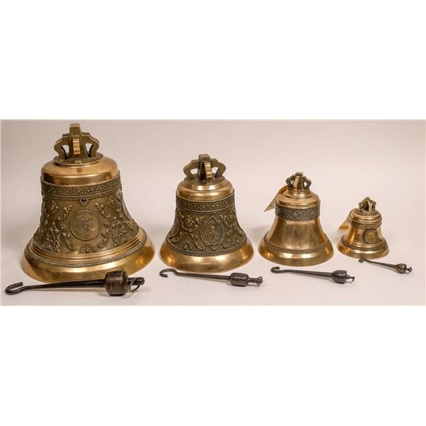 Russian Orthodox Bells, Lot of 4 - RARE!  [132263]