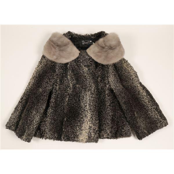 Jacket, (Ladies, Vintage Russian Lamb)  [91339]