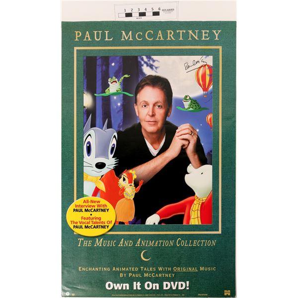 Paul McCartney Signed Poster  [121289]