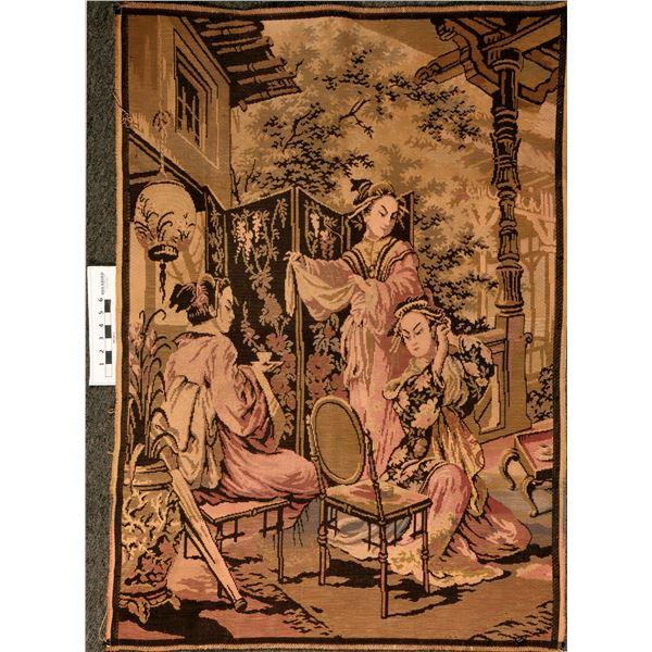 Japanese Silk Tapestry  [135571]