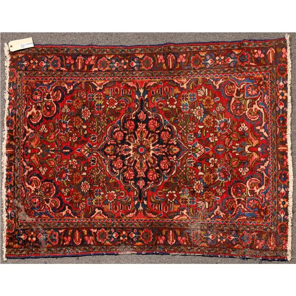 Persian Rug  in Red   [132219]