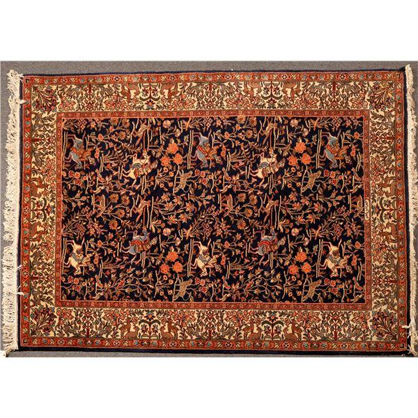 Persian Rug 6X9  [132216]