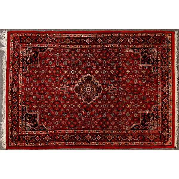 Persian rug in Dep Red color  [132222]
