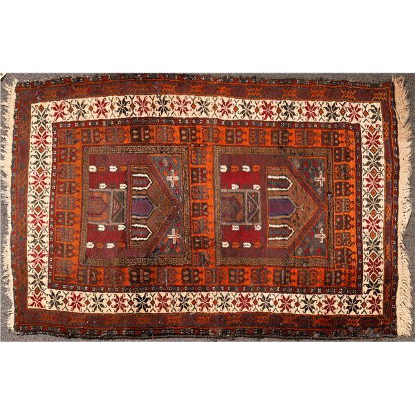Persian Rug in Maroon  [132221]
