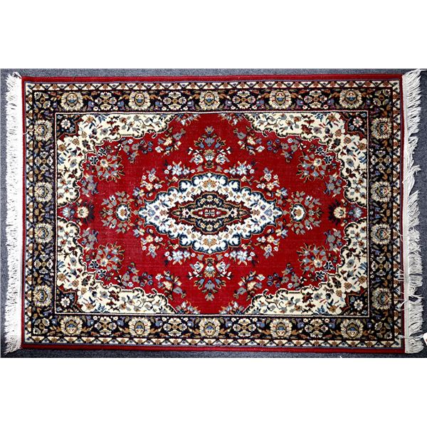 Persian Rug in red   [132220]
