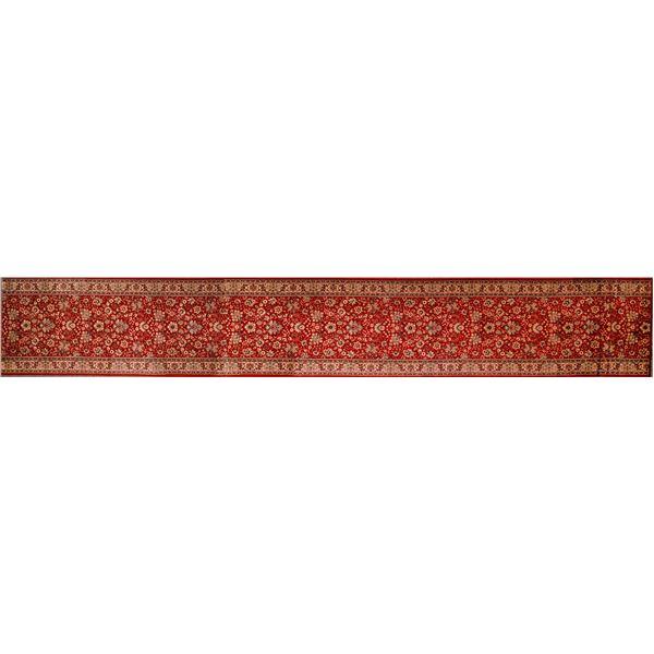 Persian Rug Runner in Red  [132225]