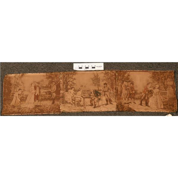 Three Vintage Tapestries  [108734]