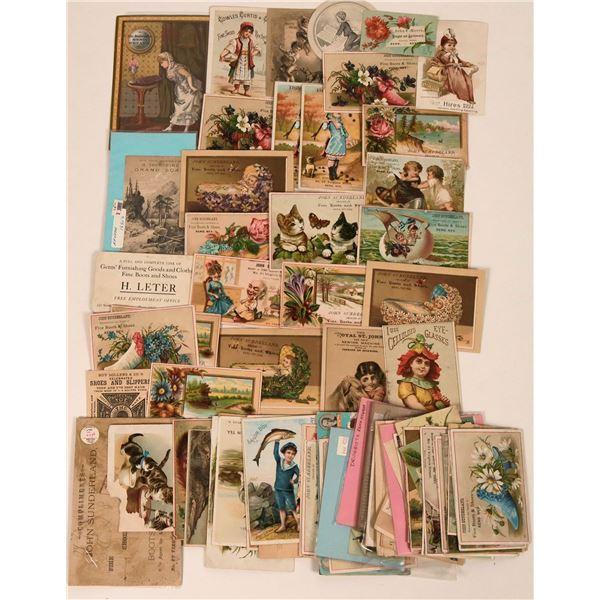 Reno, Nevada Trade Card Collection  [113507]