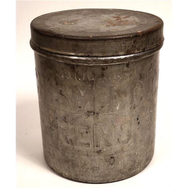 Chism I.C. Co. Ice Bucket Vintage  [133810]