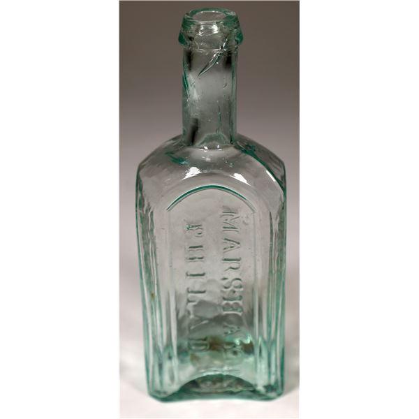 Marshall Original Preparations Open Pontil Medicine Bottle  [131895]