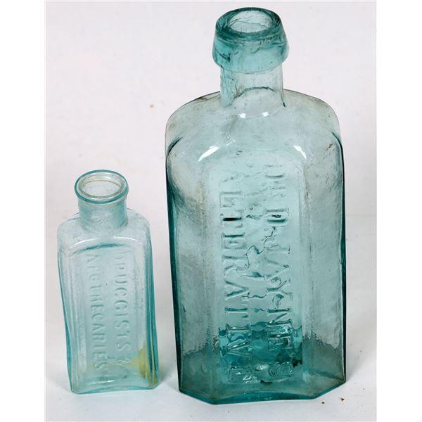 Rare Open Pontil Philadelphia Medical Bottles (2 Each)  [132321]