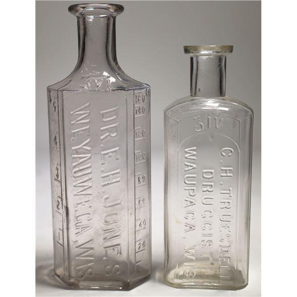 Wisconsin Drugs Bottles  [129918]
