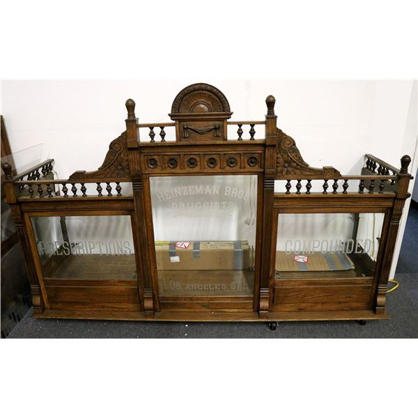Apothecary Window Counter Piece  [119973]