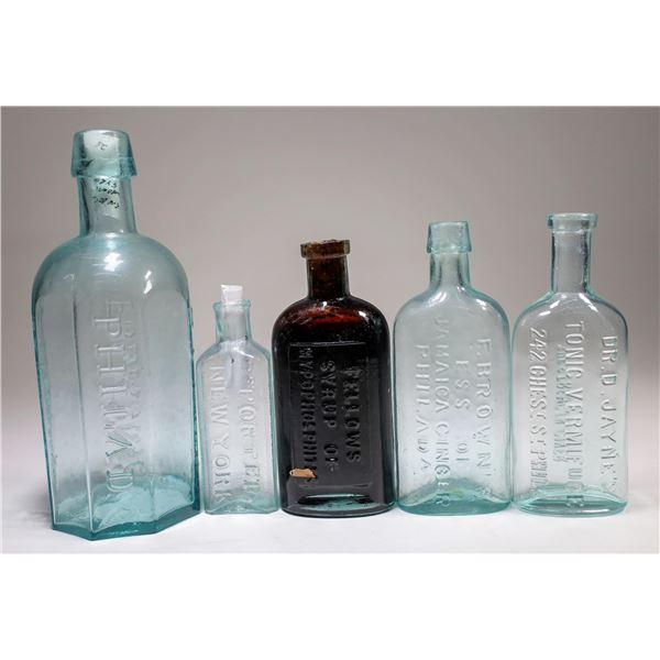 Medical Bottle Group (5)  [132369]
