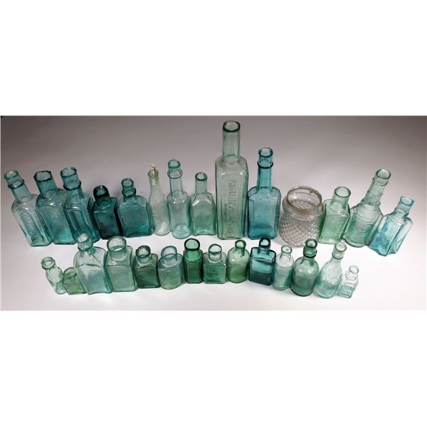 British Shear Top Antique Bottle Collection (28)  [132275]