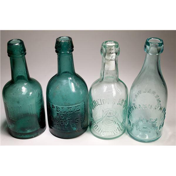 Eastern Soda Bottle Group (4)  [132332]