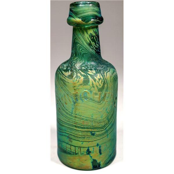 Iridescent Stained Blob Soda, c1870  [132366]