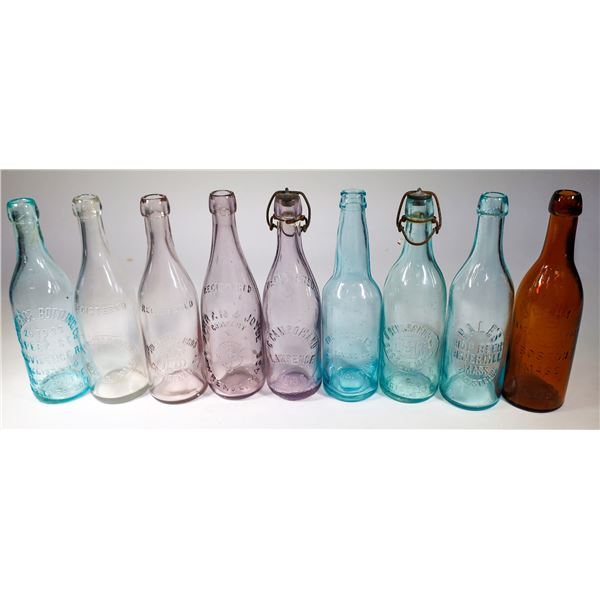 Embossed Beer Bottle Collection  [132213]