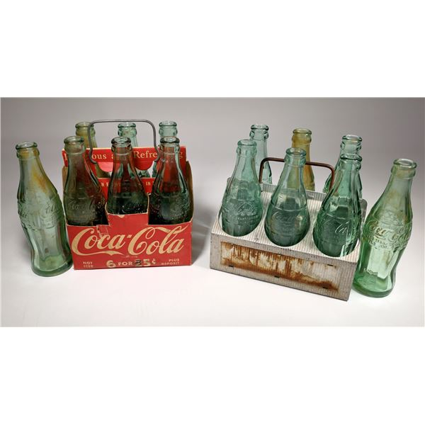Coke Bottles with Carriers   [132214]