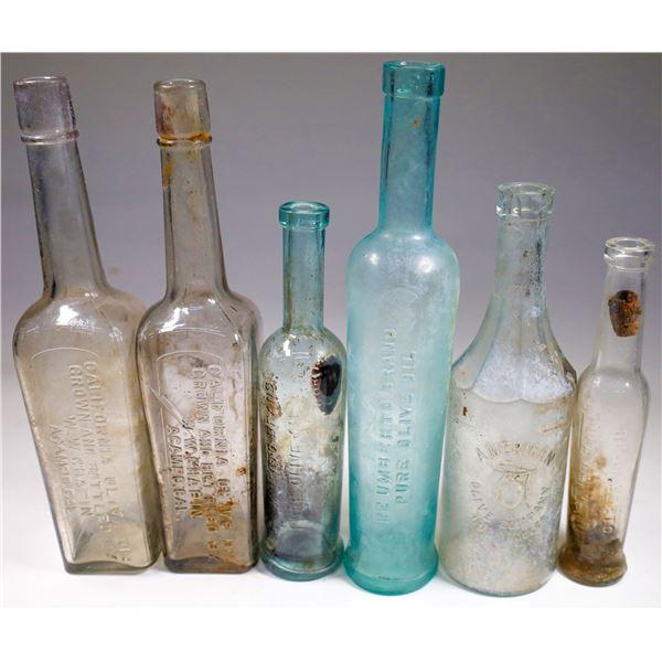 Olive Oil Bottle Collection (6)  [132473]