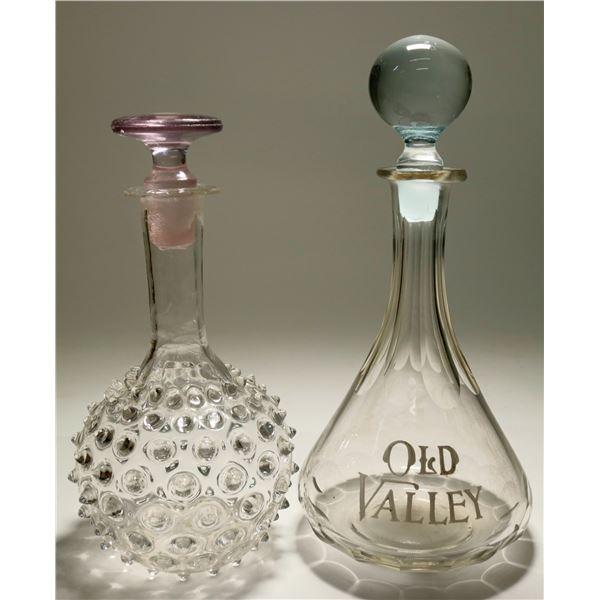 Old Valley Back Bar Bottle & Decanter  [117952]