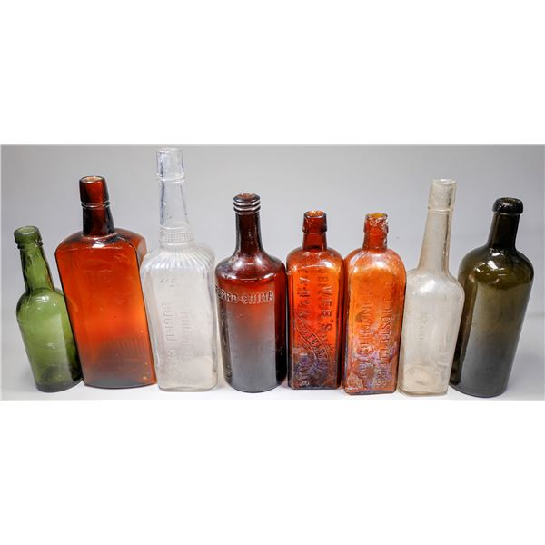 Whiskey and Bitters Bottle Group (12)  [132468]
