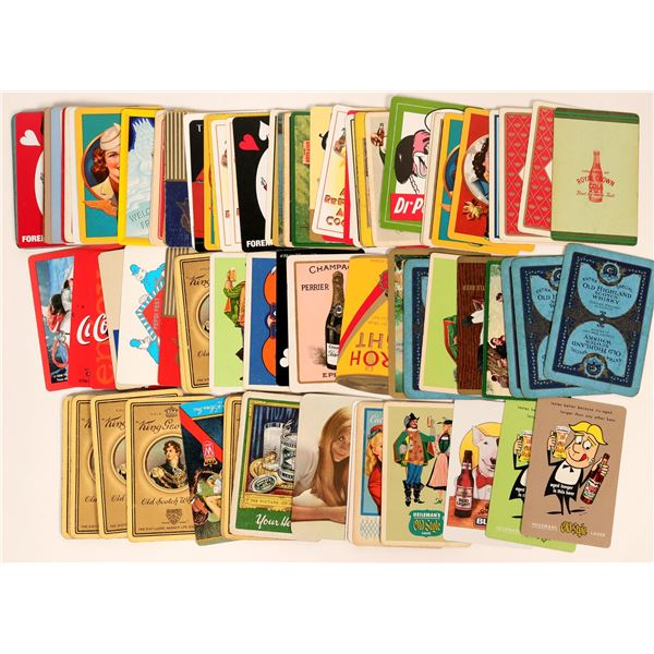 Whisky, Beer, Soda Playing Card Collection  [135353]