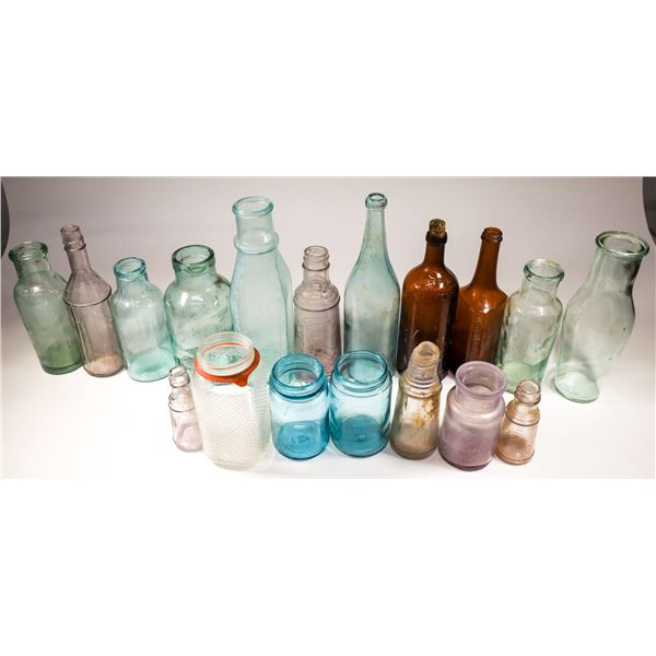 Varied Antique Bottle Collection (About 115)  [132467]