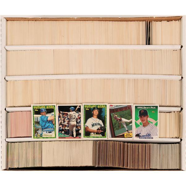 Baseball Card Group (~2500), c1990-95  [122743]