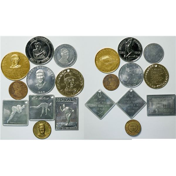 Famous Baseball Players Medal Collection  [135470]