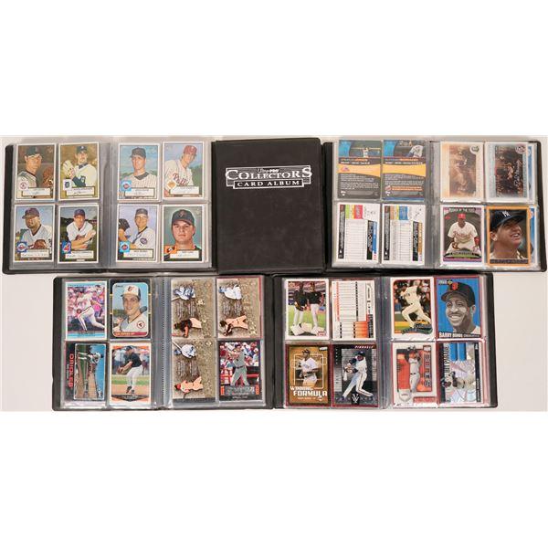 Five Baseball Card Albums  [118258]