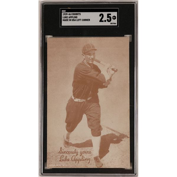 Luke Appling Player Card  [135497]