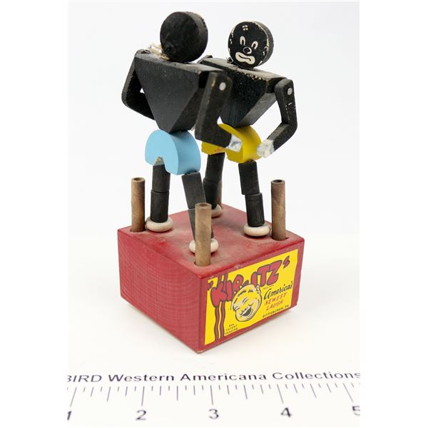 Rare Push Puppet Boxing Toy  [135552]
