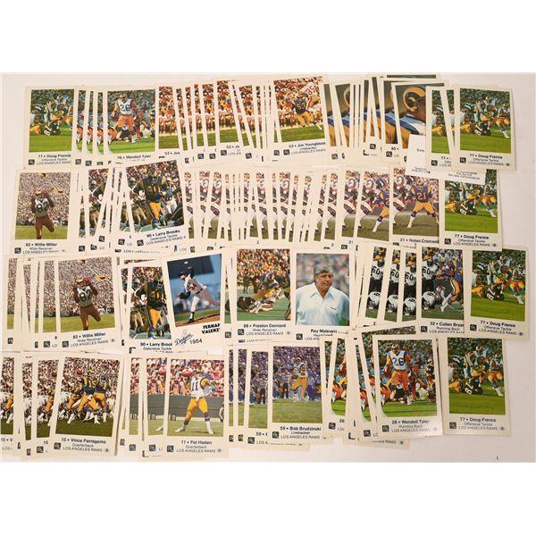 Los Angeles Rams Police Football Cards  [131878]