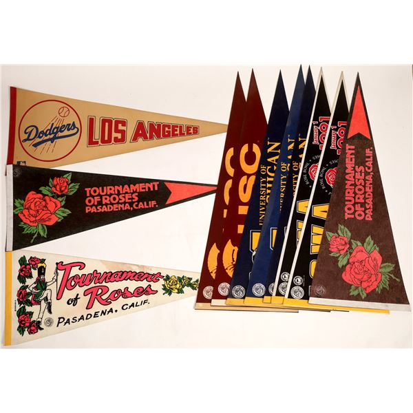 Rose Bowl Pennants and Aerial Photos  [132999]