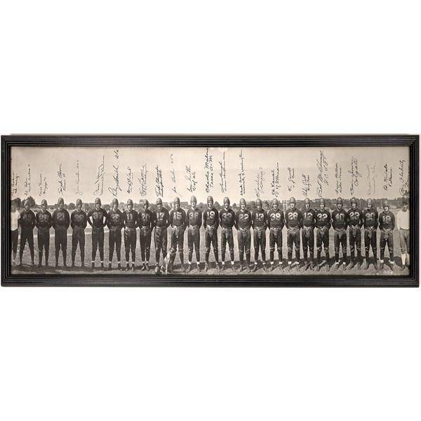 Washington Redskins- 1937 World Champions Panoramic Photo  [129544]