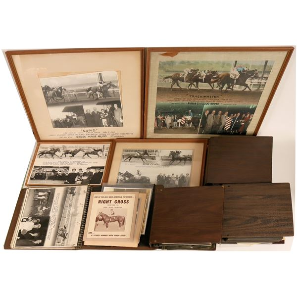 Pictorial Archive of Racehorse Trainer Ted Saladin  [121771]