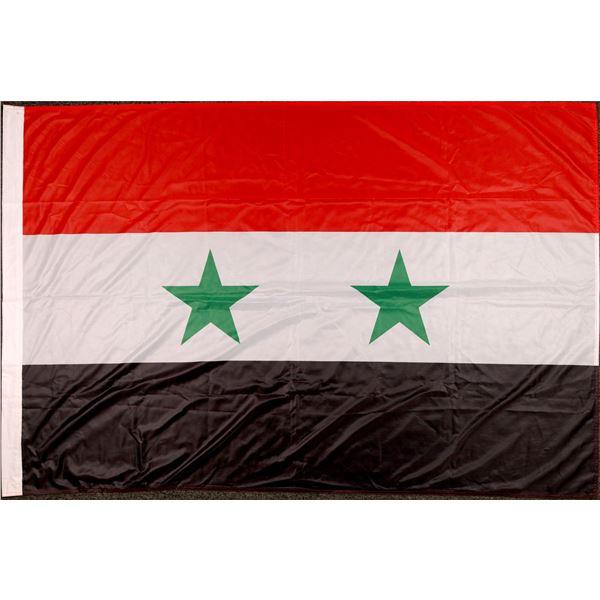 Syrian Olympic Flag from 2012 London Olympics  [111893]