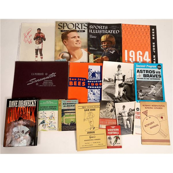 Sports Memorabilia from 1959-1968  [132851]