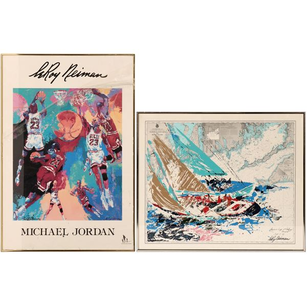 Two Leroy Neiman Posters  [110579]