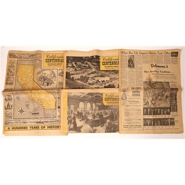 California Centennial Newspapers  [110167]