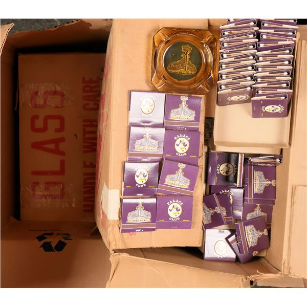 Palace Club (Casino) Ash Trays and Matches in original shipping boxes  [122747]