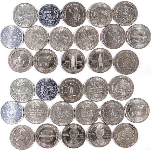 Nevada Casino Token Collection  [132119]