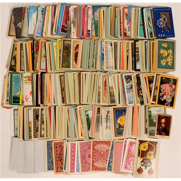 Huge Vintage Assorted Playing Card Collection  [135546]