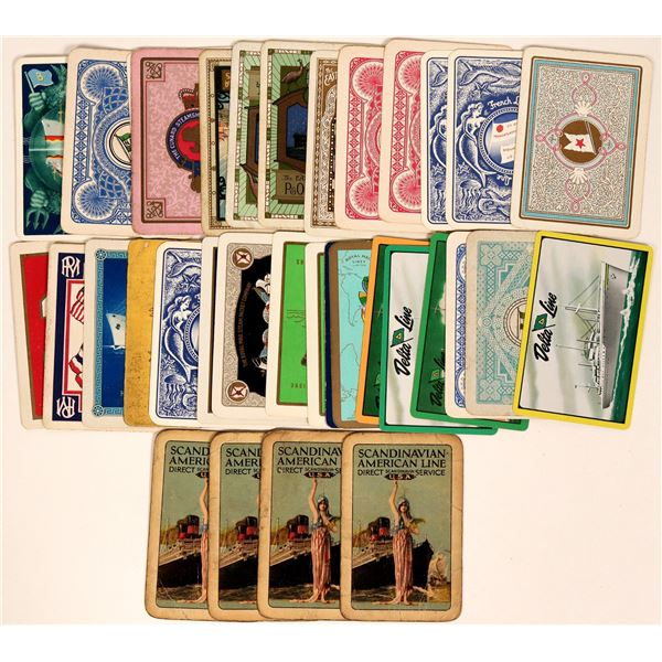 Tour Ships and Ship Companies Advertising Playing Cards  [135493]