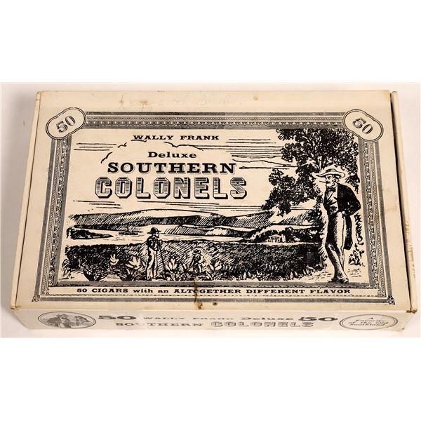 Cigar Box of Vintage Poker Chips  [131231]