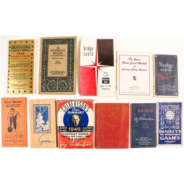 Card Games Books  [135339]