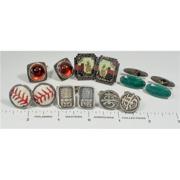Vintage Cufflinks - 6 pair  [124840]