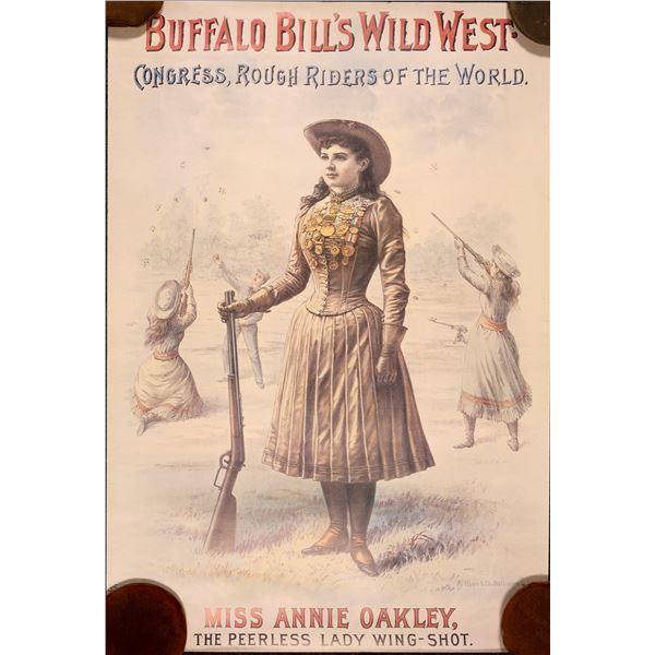 Buffalo Bill Repro Show Posters  [131969]